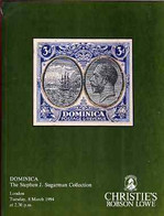 Auction Catalogue - Dominica - Christie's 8 Mar 1994 - The Stephen Sugarman Coll - With Prices Realised - Other