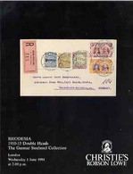 Auction Catalogue - Rhodesia - Christie's 1 June 1994 - The Grunnar Strehmel Coll - Cat Only - Other