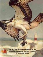 Auction Catalogue - Gibraltar - Universal Philatelic Auctions 27 October 2009 - The Philatelic Bureau Archive - Other