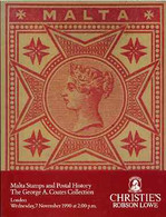 Auction Catalogue - Malta - Christie's 7 Nov 1990 - The George A Coates Coll - With Prices Realised - Other