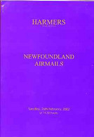 Auction Catalogue - Newfoundland & Airmails - Harmers 26 Feb 2002 - The Cyril Harmer Coll - Cat Only - Other