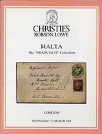 Auction Catalogue - Malta - Christie's 22 Mar 1989 - The Francisco Coll - With Prices Realised - Other