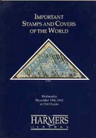 Auction Catalogue - World - Harmers 15 Dec 1993 - Important Stamps & Covers - With Prices Realised - Other