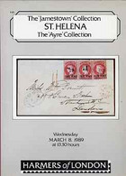 Auction Catalogue - St Helena - Harmers 8 Mar 1989 - The Jamestown & Ayre Collections - With Prices Realised - Other
