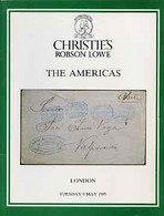Auction Catalogue - The Americas - Christie's Robson Lowe 9 May 1989 - With Prices Realised - Other