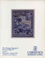Auction Catalogue - King George VI - Christie's Robson Lowe 14 Mar 1990 - The T D Barber Coll - Cat Only - Other