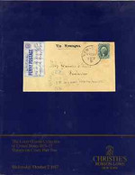 Auction Catalogue - United States - Christie's Robson Lowe 7 Oct 1987 - Incl The The Louis Grunin Coll Part 2 - Other