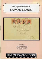 Auction Catalogue - Cayman Islands - Harmers 10 May 1988 - The R J Edmondson Coll - With Prices Realised - Other