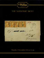 Auction Catalogue - Sicily - Phillips 3 Nov 1994 - The Alphonse Collection - With Prices Realised - Other
