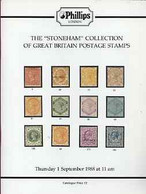 Auction Catalogue - Great Britain - Phillips 1 Sept 1988 - With The Stoneham Coll - Cat Only - Other