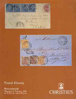 Auction Catalogue - Postal History - Christie's 21 Feb 1991 Ian T Hamilton, F E Dixon John O Griffiths - Other
