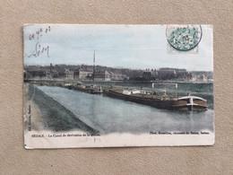 SEDAN- Ardennes–le Canal De Dérivation De La Meuse-«en Couleur» - Sedan