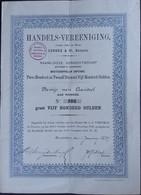 Handels Vereeniging V/h LEROUX Et CO Batavia 1887 - Sin Clasificación