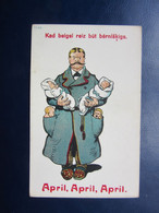 Old April Fools  Day  Postcard  / Latvia  1930s (1) - Lettonia