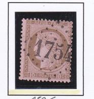 GC 1754 ELOYES ( Dept 82 Vosges ) S / N° 54 Indice Baudot S / L : 22 Soit 700€ - 1849-1876: Periodo Classico