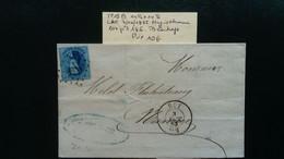 Belgique - LAC - TP15B - De Huy à Namur - Losange De Point 186 - 1863-1864 Medallions (13/16)