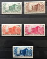 GUINÉE 1939 - NEUF/MNH/MH - Série Complète YT 153 / 157 - LUXE - CV 63 EUR - Unused Stamps