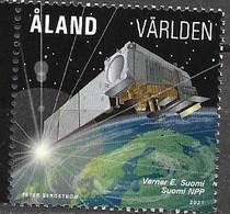 ALAND, 2021, MNH, SATELLITE METEOROLOGY,1v - Climate & Meteorology