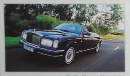 Petit Calendrier De Poche 2002 Voiture Rolls Royce Corniche - 3 Volets - Klein Formaat: 2001-...