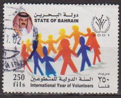 Année Internationale Des Volontaires - BARHEIN - BARHAIN - Ronde - N° 687 - 2001 - Bahrain (1965-...)