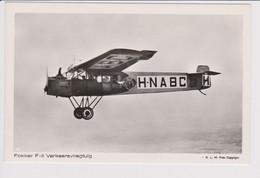 Vintage Rppc KLM K.L.M. Royal Dutch Airlines Fokker F-II Aircraft. - 1946-....: Modern Era