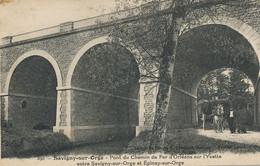 Pont Chemin De Fer Orleans Sur Yvette Savigny Epinay Sur Orge - Structures