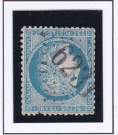 GC 6231 RAON SUR PLAINE ( Dept 82 Vosges ) S / N° 60 Indice Baudot S / L : 20 Soit 500€ - 1849-1876: Periodo Classico