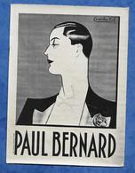 CPA Carte Photo De L'affichiste Illustrateur Charles KIF - Portrait De L'artiste PAUL BERNARD Homme Efféminé - Altre Illustrazioni