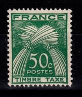 Taxe - YV 80 N** Gerbe Timbre Taxe Cote 25 Euros - 1859-1955 Postfris