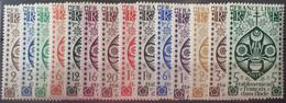 R2452/1313 - 1942 - COLONIES FR. - INDE - SERIE COMPLETE - N°217 à 230 NEUFS* - Ongebruikt
