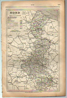 ANNUAIRE - 59 - Département Nord - Année 1907 - édition Didot-Bottin - 192 Pages - Telephone Directories