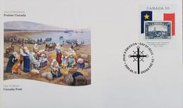 A) 2005, CANADA, ACADIA MUSEUM 1930, 250 ANNIVERSARY OF THE DEPORTATION OF THE ACADIOS, XF - Cartas