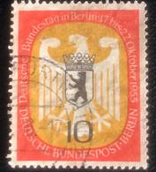 Deutsche Bundespost - Berlin -  A1/32 - (°)used - 1955 - Michel 129 - Zitting Bondsdag In Berlijn - Oblitérés