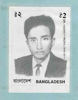 Bangladesh 1997 Martyred Intellectuals (6th Series) 2t Dr Hasimoy Hazra Original Artwork As Submitted - Bangladesh