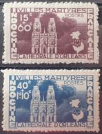 R2452/1317 - 1944 - COLONIES FR. - INDOCHINE - SERIE COMPLETE - N°292 à 293 NEUFS(*) - Ungebraucht