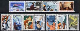 Australian Antarctic Territory 1966 Definitive Set 1c To $1 Complete U/m, SG 8-18 - Neufs
