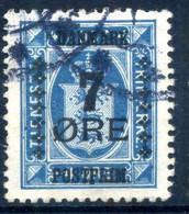 1926 DANIMARCA N.176 USATO - Gebruikt