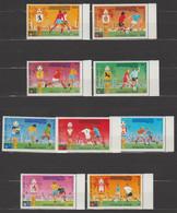CAMBODGE KHMER  1974  COUPE DU MONDE FIFA MUNICH    **MNH  Michel N° 420/8 - Kambodscha