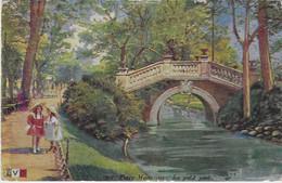 FR44 - Paris  - Parc Monceau - Le Petit Pont - Squares