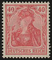 145II Germania 40 Pf Drucktype II, ** - Unclassified