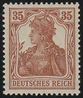 103a Germania 35 Pf ** Postfrisch - Unclassified