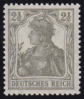 98 Germania 2 1/2 Pf ** Postfrisch - Unclassified