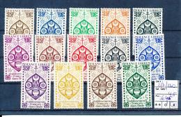 FRENCH INDIA YVERT 217/230 LH - Zonder Classificatie
