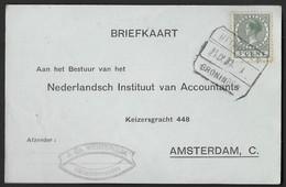 Blokstempel: Uithuizen-Groningen - Storia Postale