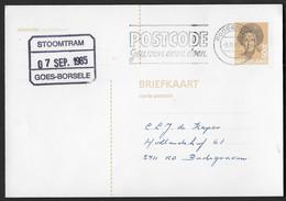 Blokstempel: Stoomtram Goes-Borsele - Storia Postale