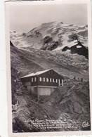 """ST GERVAIS : CPSM P.F DE 1953.LE FAYET. TERMINUS DU T.M.B. ET CHALET """"LE NID D AIGLE """" . T.B.ETAT - Saint-Gervais-les-Bains"""