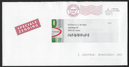 Opgedrukt Stempel Alphen A/d Rijn - Bankgiroloterij - Marcophilie - EMA (Empreintes Machines)