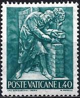 Vatican 1966 - Mi 495 - YT 446 ( The Wok Of Man : Builder ) MNH** - Ungebraucht
