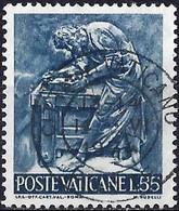 Vatican 1966 - Mi 496 - YT 447 ( The Wok Of Man : Carpenter ) - Gebraucht