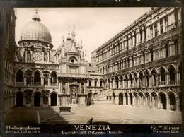 Italië Italy Italia - Venezia - PHOTO Foto - Cortile Del Palazzo Ducale - 1915 - Unclassified